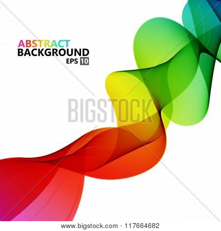 Vector modern colorful hi-tech abstract background.