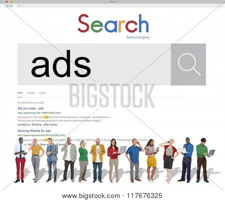 Ads Advertising Branding Marketing Concept