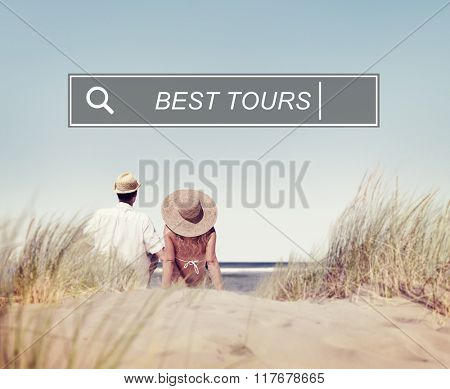 Best Tours Holiday Enjoyment Freedom Concept