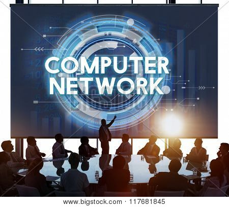 Computer Network Connection Globalization Networking Concept