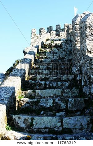 Moorish Castle Stairs