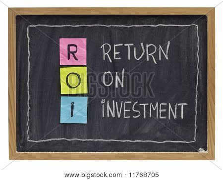 Return On Investment Concept