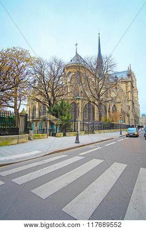 The image of Notre Dame de Paris