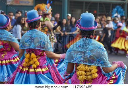 Morenada Dancers