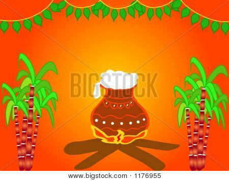 Indian Festival Pongal