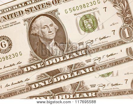 Dollar Notes 1 Dollar Vintage