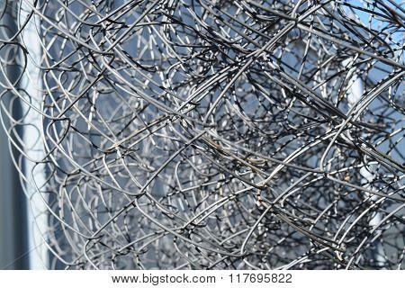 Background Of Folded Mesh Netting