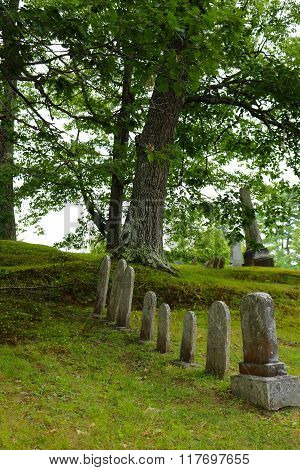 Historical Maine Cemetery