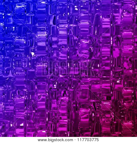 Abstract Illustrated Wonderful Glass Design Background Object