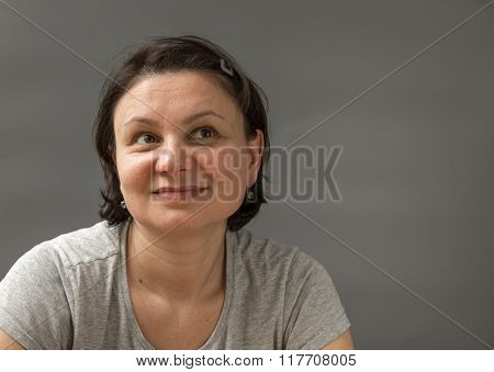 Portrait of a mature woman.