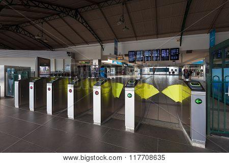 Melbourne Flinders Railway Station Entrance Gates
