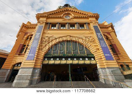 Flinders Street Station Main Entrance