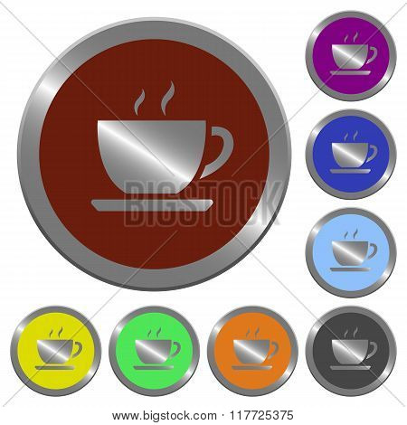 Color Coffee Buttons