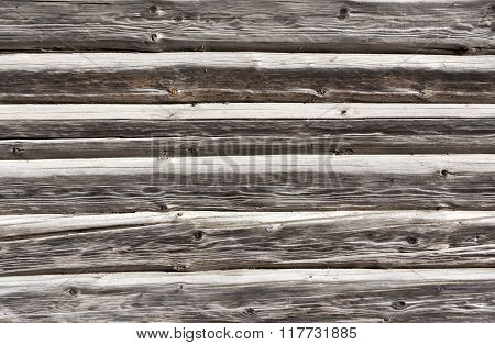 Old Log House Texture.