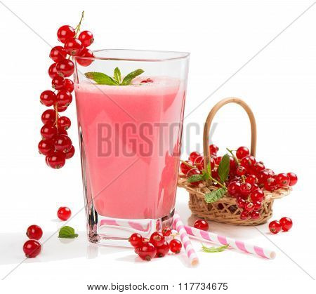 Redcurrant Smoothie Drink