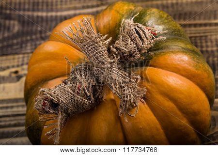 Magic Doll On Pumpkin
