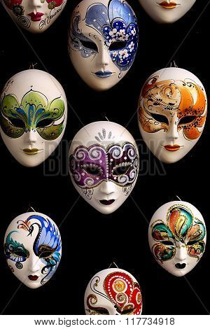 Venetian Carnival Masks For Sale