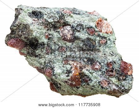 Eclogite Piece With Garnet And Omphacite Rock