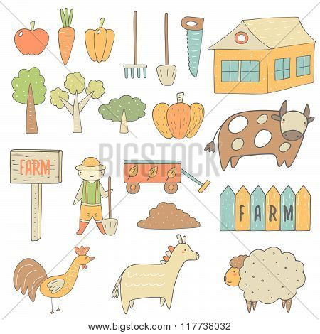 Farm objects collection