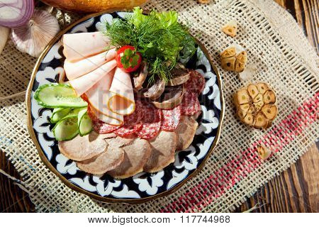 Meat Delicatessen Dish