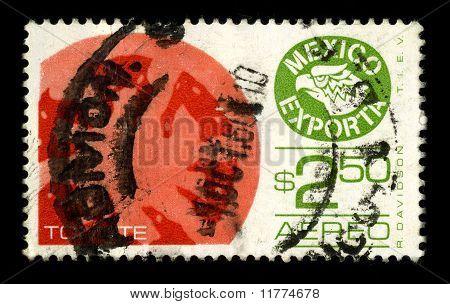 Postzegel.