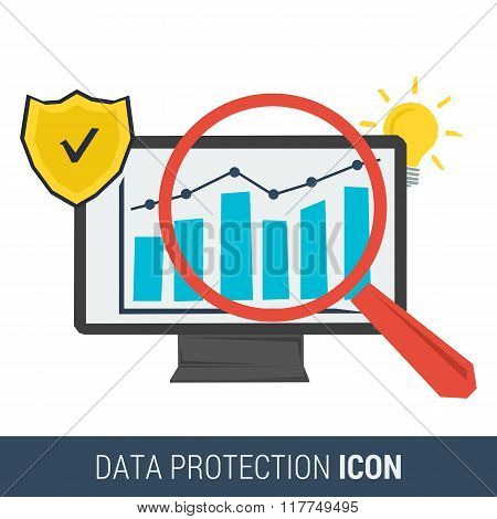 Icon Concept Data Protection