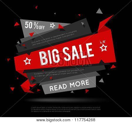 Black Sale Banner