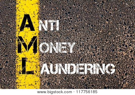 Business Acronym Aml Anti Money Laundering