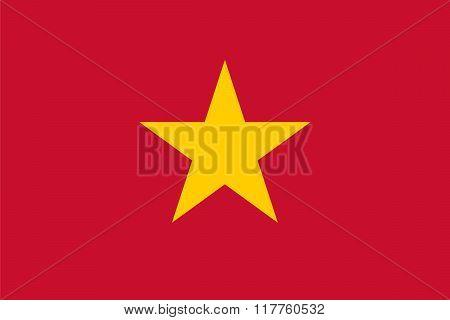 Standard Proportions For Vietnam Flag