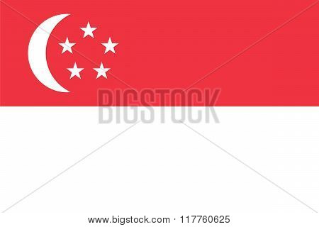 Standard Proportions For Singapore Flag