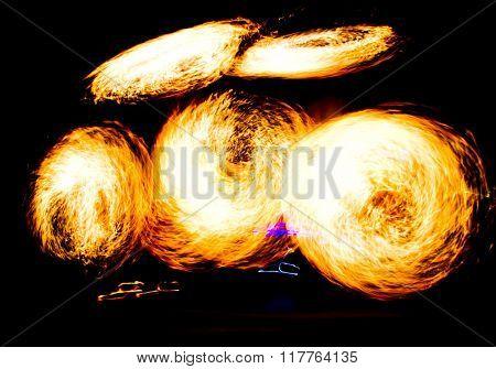 Human Torch Carnival Light