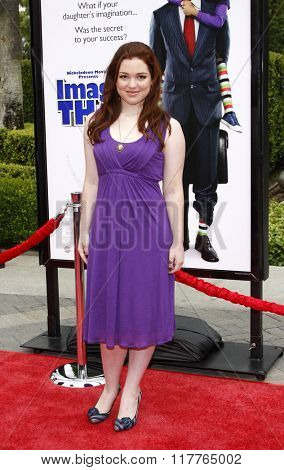 Jennifer Stone at the Los Angeles premiere of