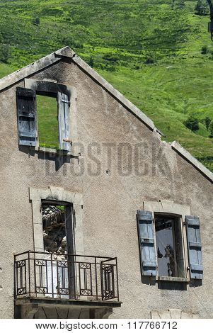 Abandoned House In Pyrenees (france)