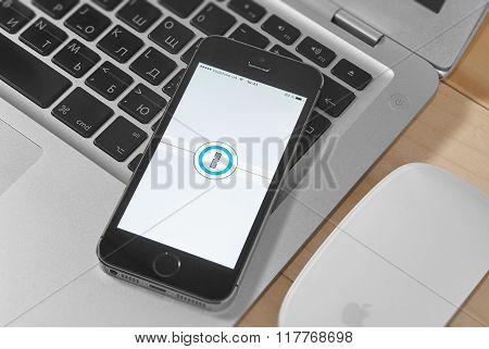 Iphone 5S With 1 Password App