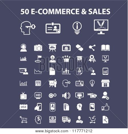 e-commerce, store, shopping, retail, sales icons