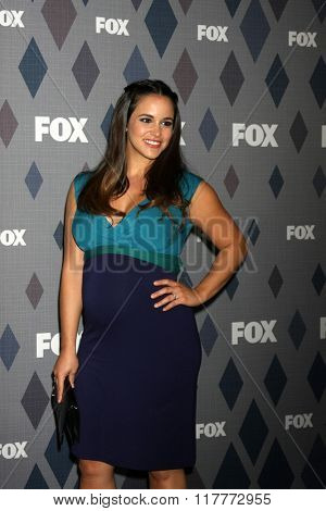 LOS ANGELES - JAN 15:  Melissa Fumero at the FOX Winter TCA 2016 All-Star Party at the Langham Huntington Hotel on January 15, 2016 in Pasadena, CA