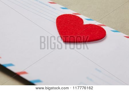 envelopes for Valentine's day