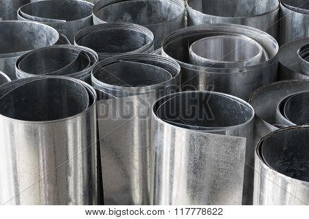 Rolls Of Flat Galvanized Metal Sheets