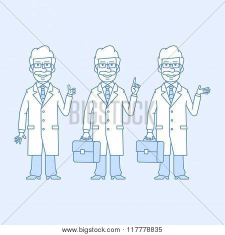 Professor in different versions