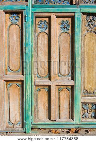 Floral Decor Door