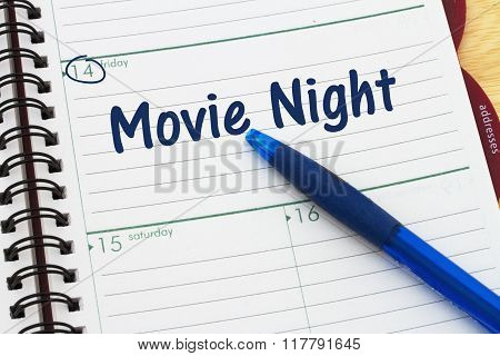 A Date For Movie Night