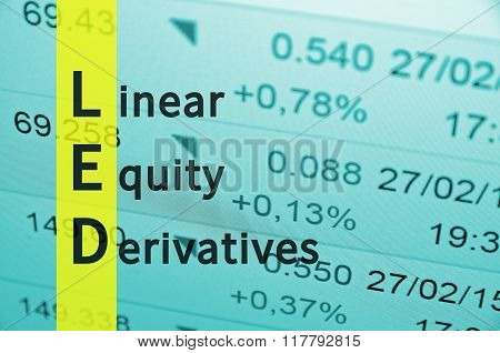 Linear Equity Derivatives