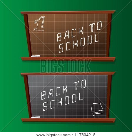 Back To School Board Background