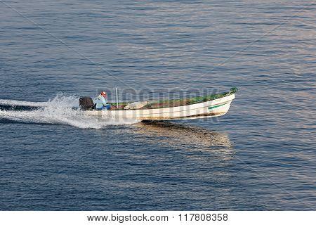 Fisherman In Oman