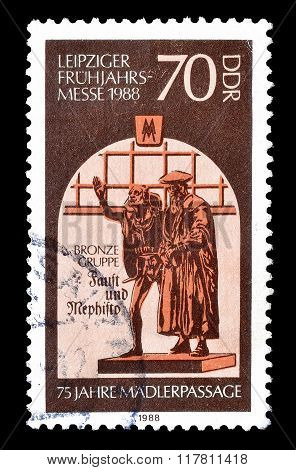 German Democratic Republic 1988