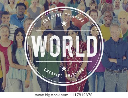 World Global Community Globalization Planet Concept