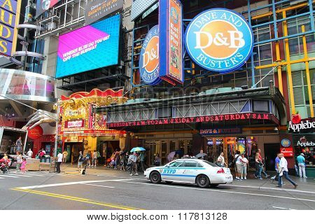 Dave And Buster's NYC