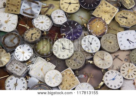 Load Various Antique pocket watches