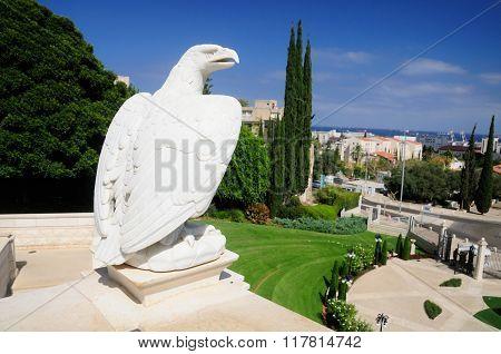 Bahai gardens of Haifa.
