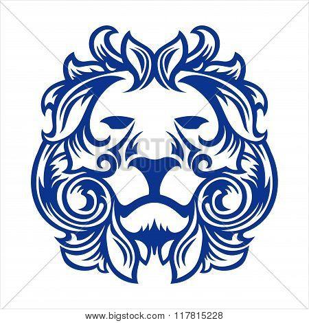 lion leaf batik